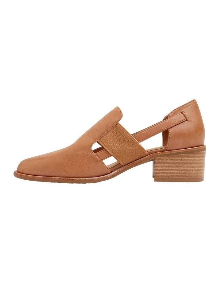 Expose Tan Glove Flat Shoes image 3
