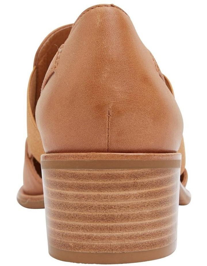 Expose Tan Glove Flat Shoes image 6