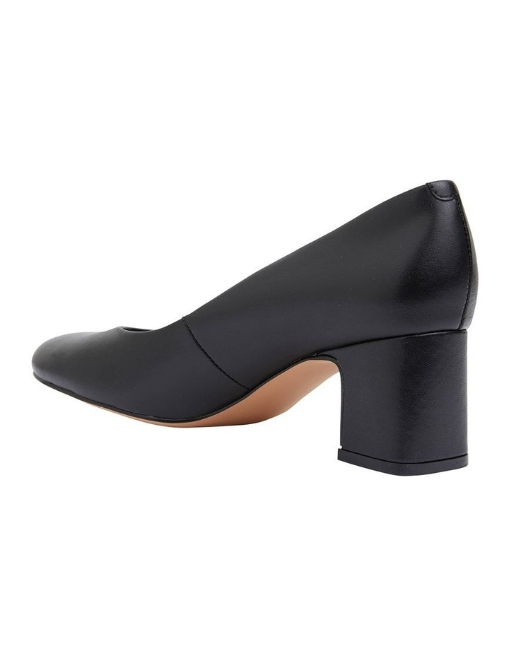 Joyce Black Glove Heeled Shoes image 4