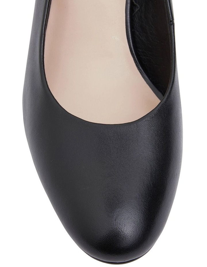 Joyce Black Glove Heeled Shoes image 5