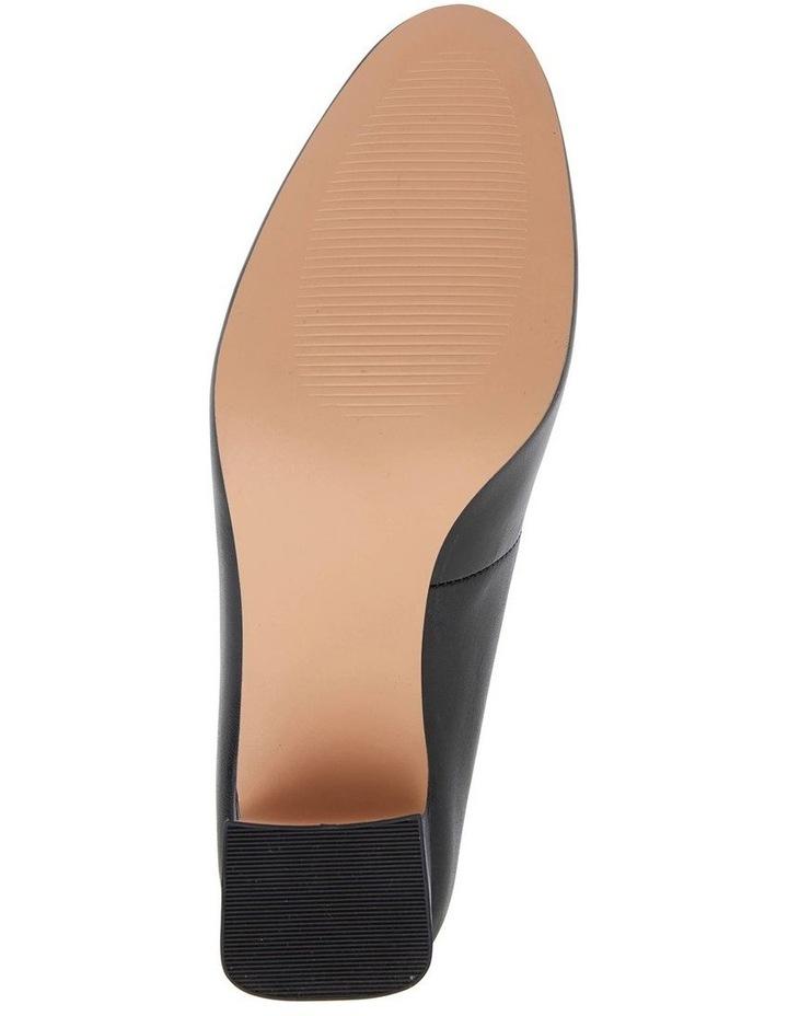 Joyce Black Glove Heeled Shoes image 7