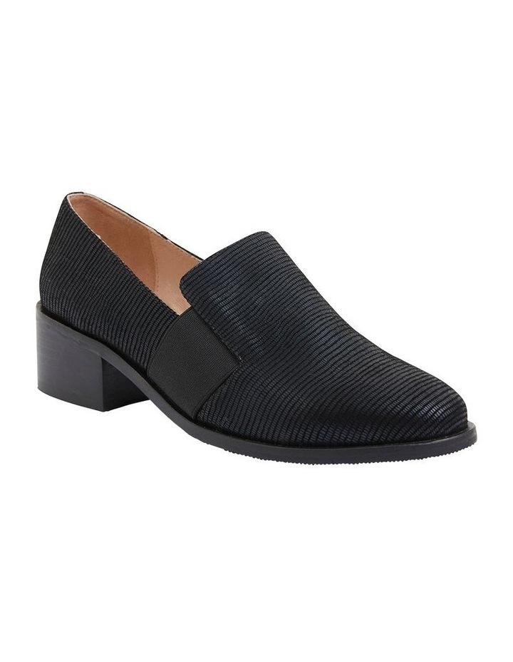 Exact Black Lizard Flat Shoes image 2