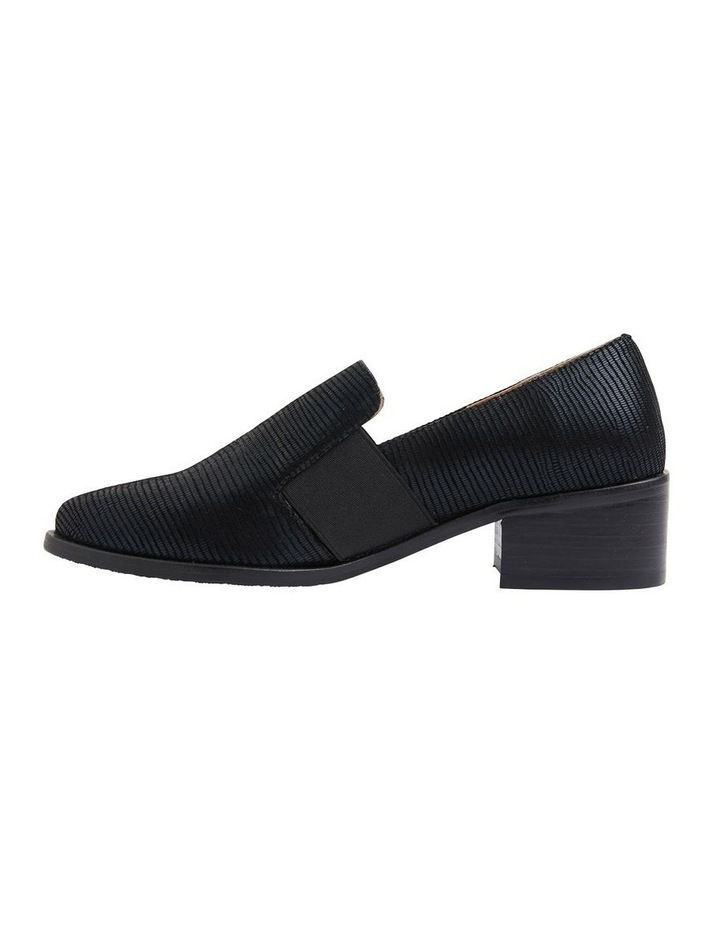 Exact Black Lizard Flat Shoes image 4