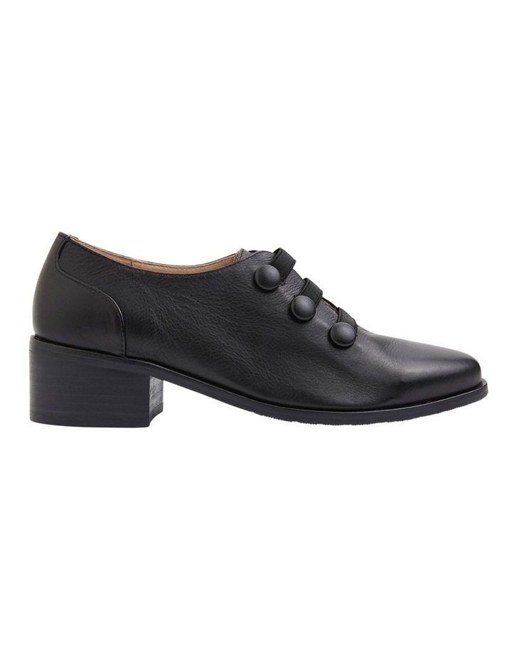 Edison Black Glove Flat Shoes image 1