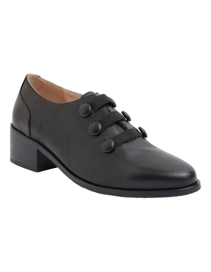 Edison Black Glove Flat Shoes image 2
