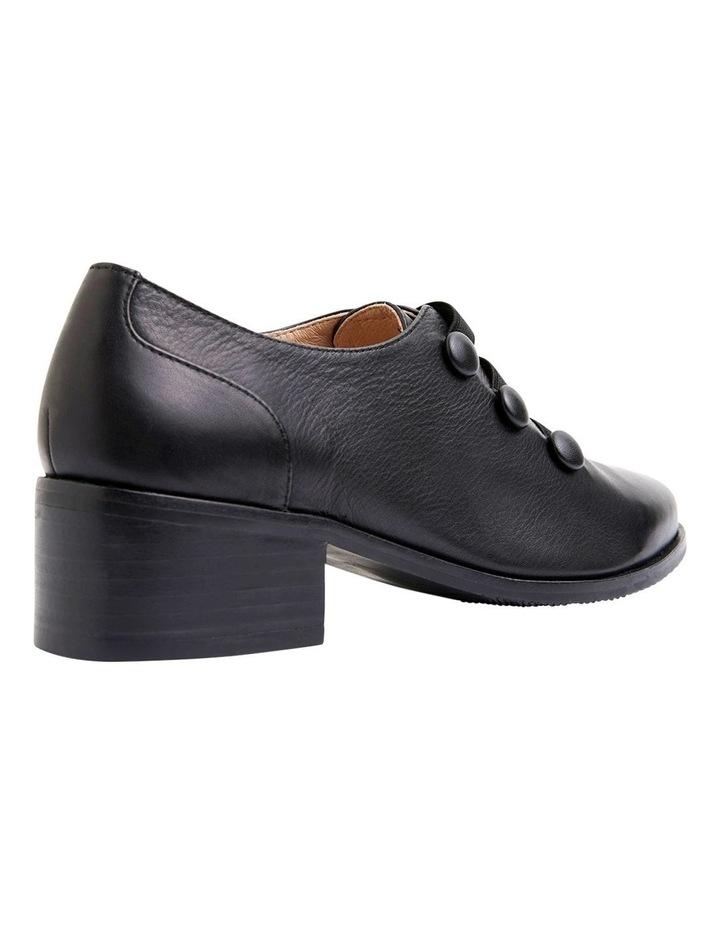 Edison Black Glove Flat Shoes image 3