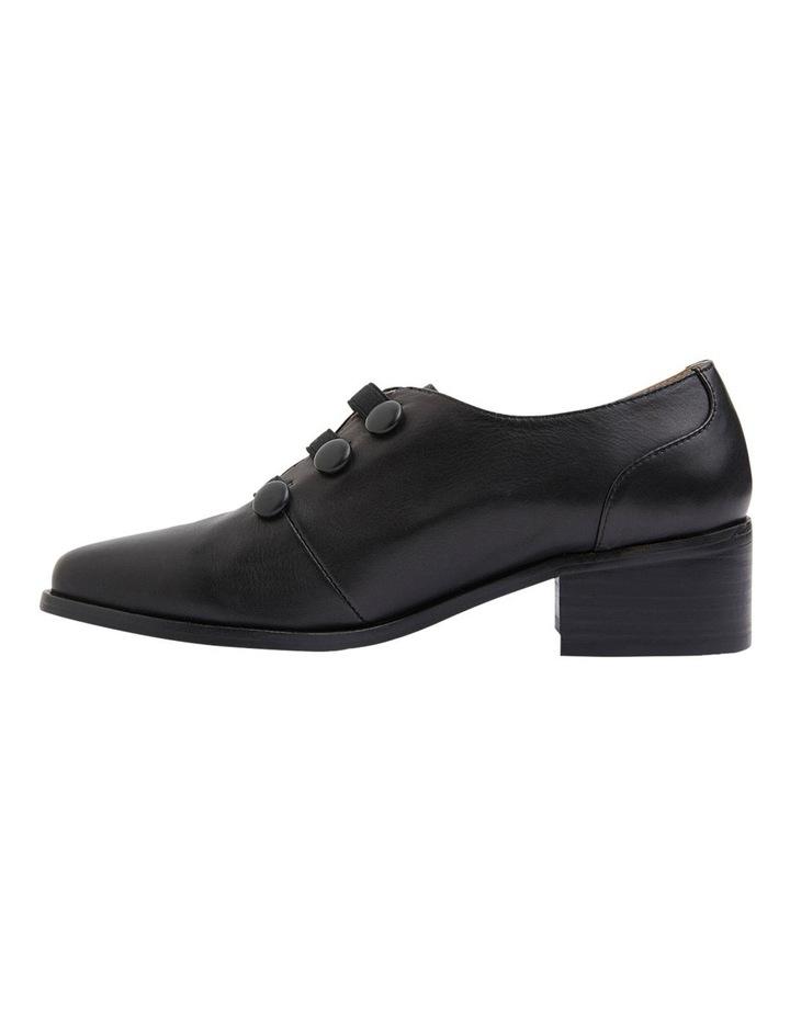 Edison Black Glove Flat Shoes image 5