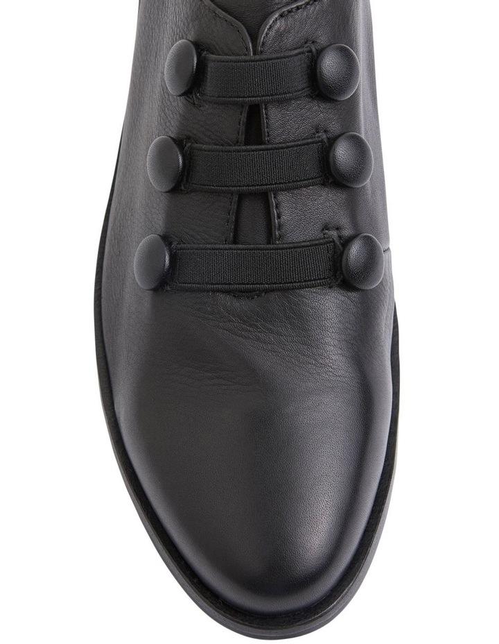 Edison Black Glove Flat Shoes image 7