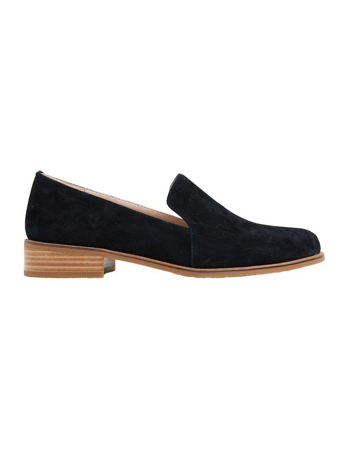 Everest Black Suede Flat Shoes image 1