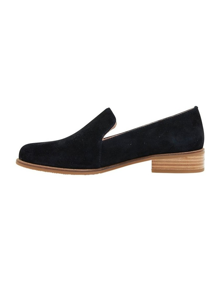 Everest Black Suede Flat Shoes image 3