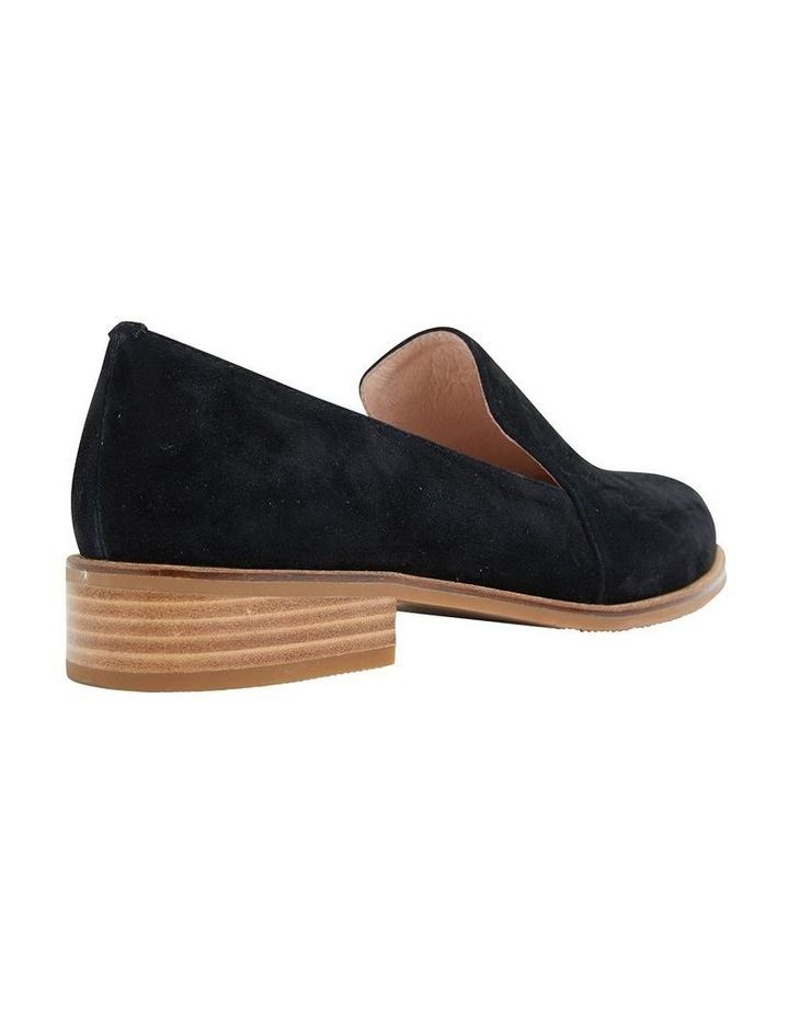 Everest Black Suede Flat Shoes image 4