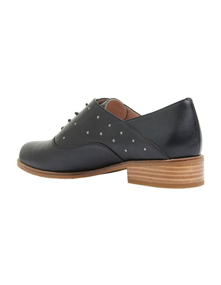 Jaguar Black Glove Flat Shoes image 4