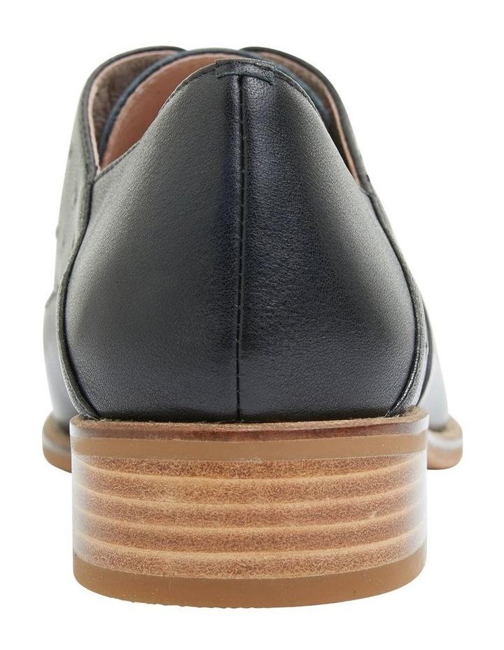 Jaguar Black Glove Flat Shoes image 5