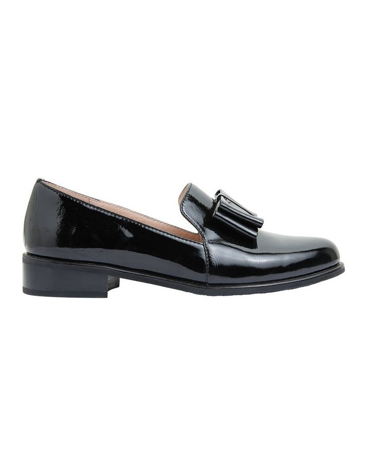 Jarvis Black Patent Flat Shoes image 1