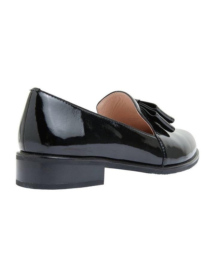Jarvis Black Patent Flat Shoes image 3