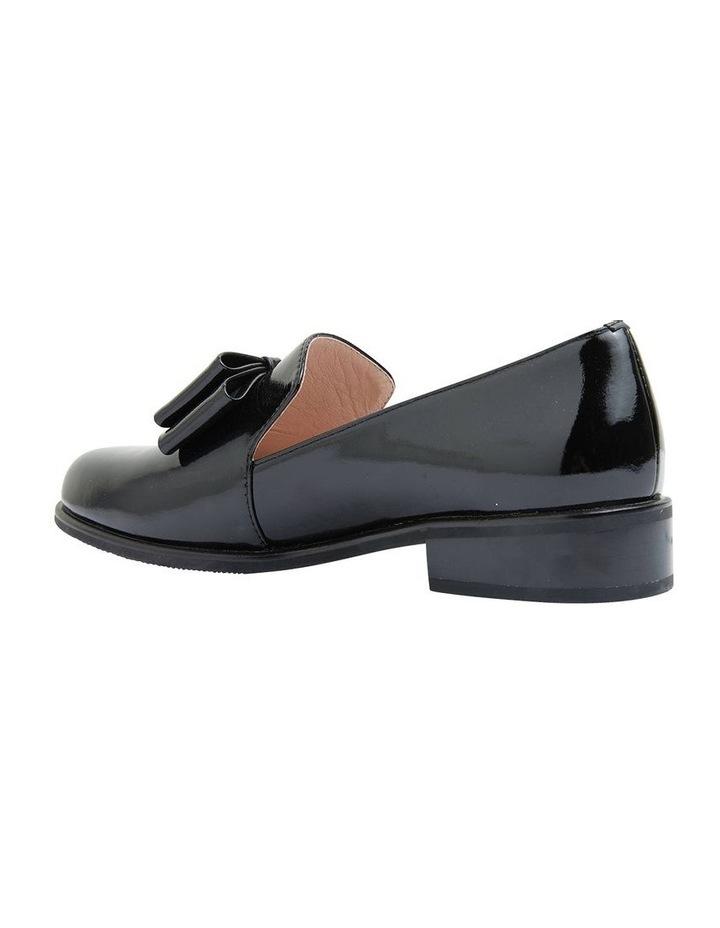 Jarvis Black Patent Flat Shoes image 4