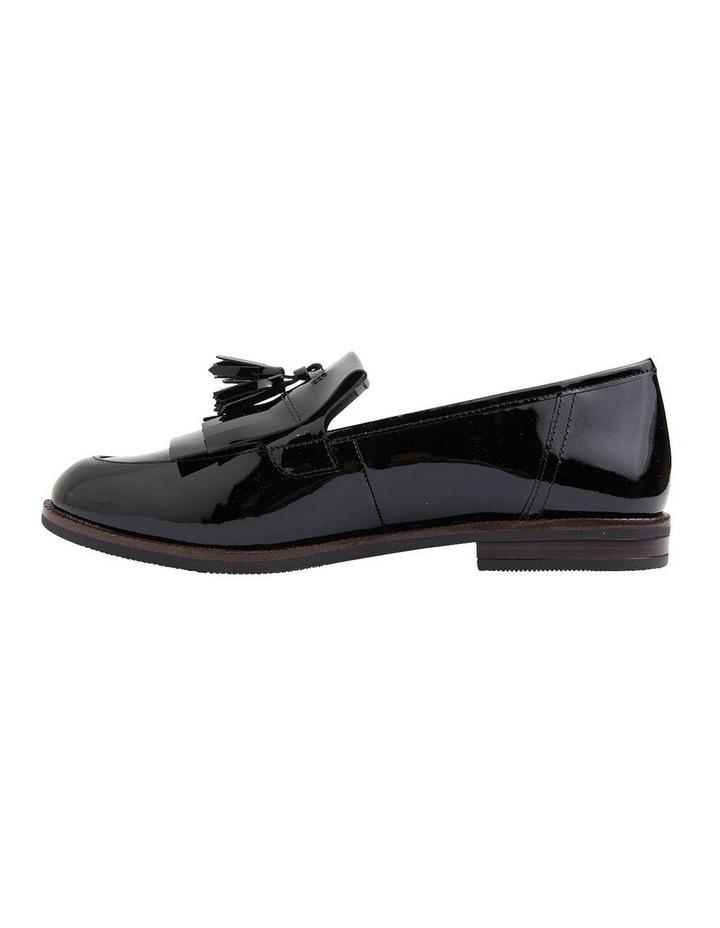 Wade Black Patent Flat Shoes image 3