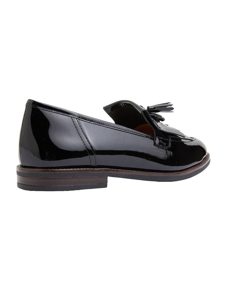 Wade Black Patent Flat Shoes image 4