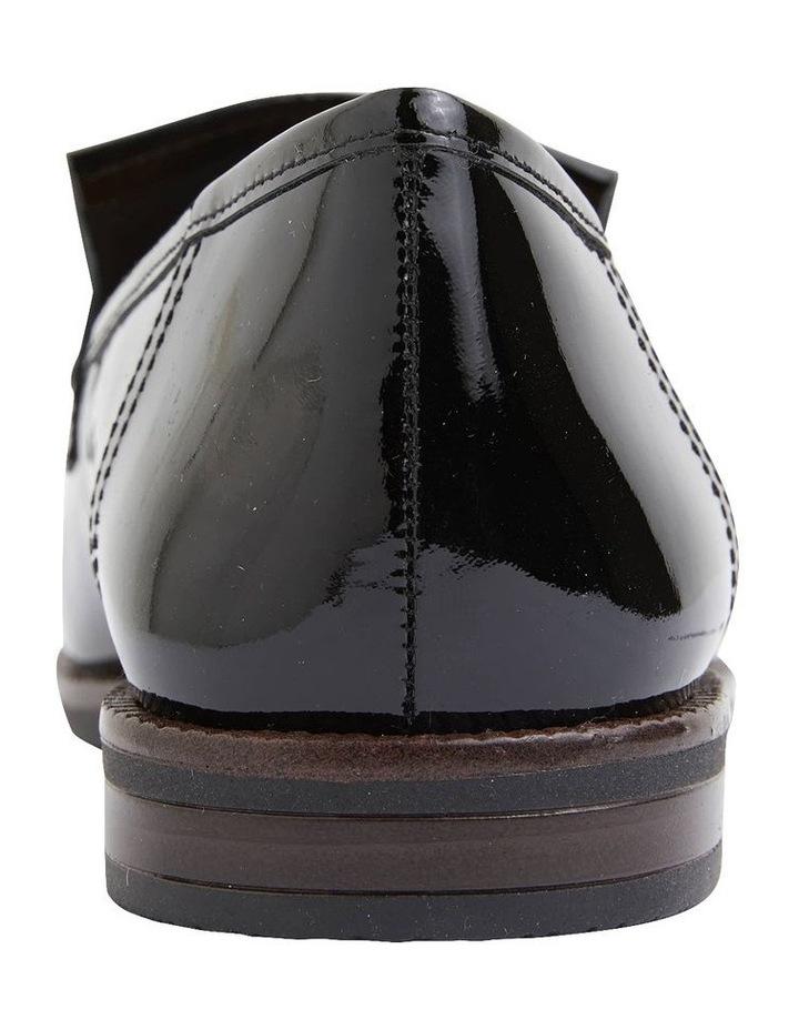 Wade Black Patent Flat Shoes image 5