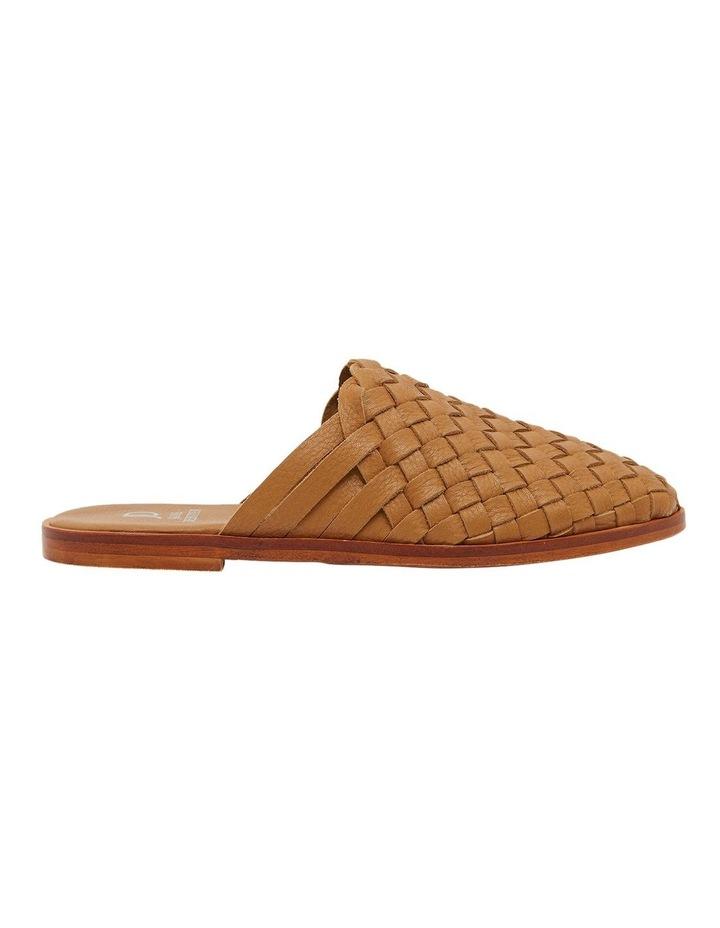 Watson Tan Weave Flat Shoes image 1