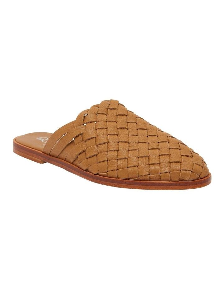 Watson Tan Weave Flat Shoes image 2