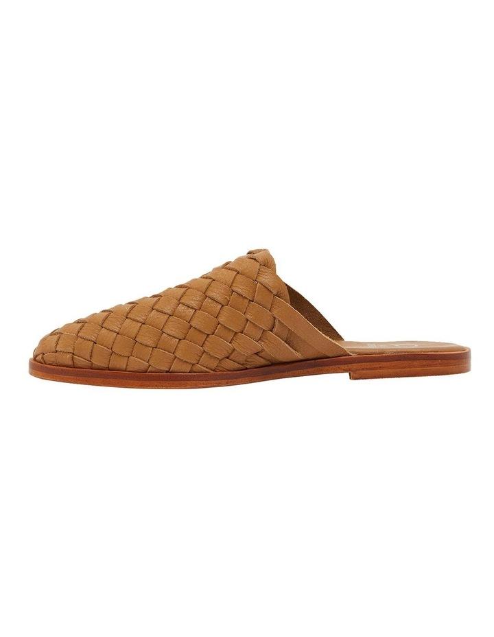 Watson Tan Weave Flat Shoes image 3