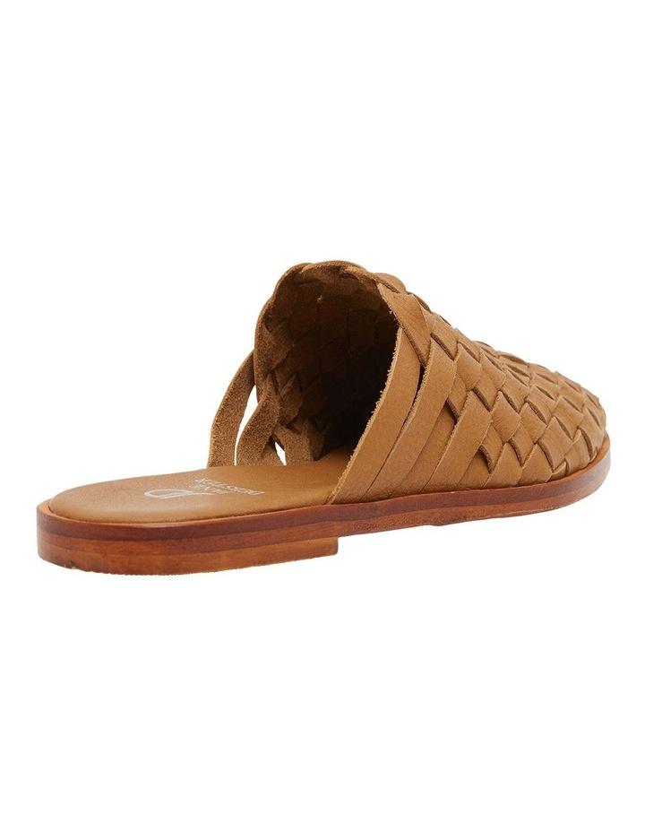 Watson Tan Weave Flat Shoes image 4