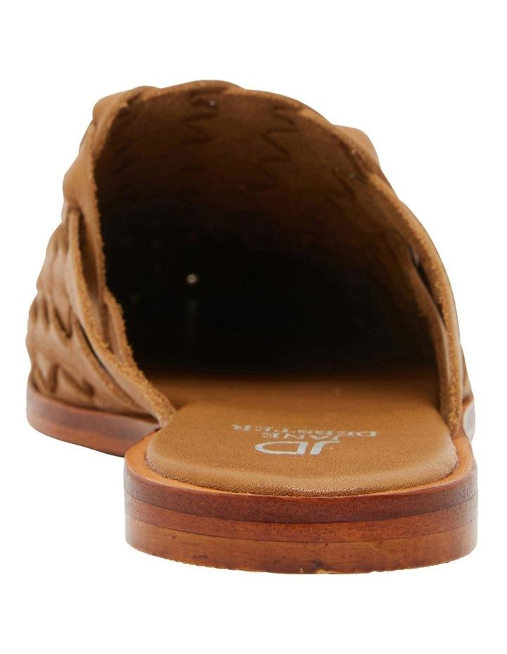 Watson Tan Weave Flat Shoes image 5