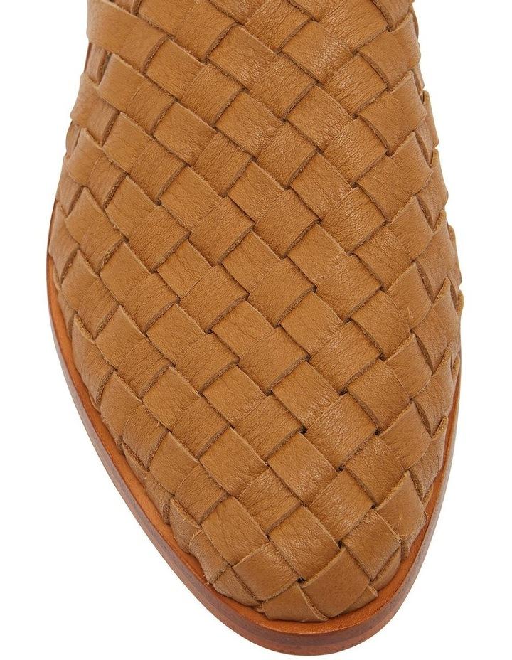 Watson Tan Weave Flat Shoes image 6
