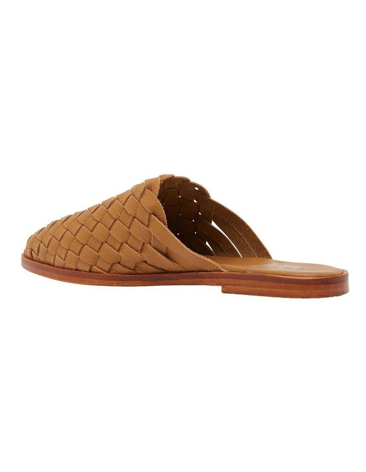 Watson Tan Weave Flat Shoes image 7