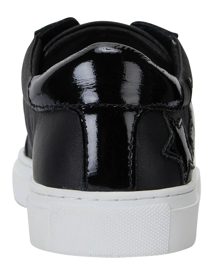 Campus Black/Black Patent Sneaker image 6