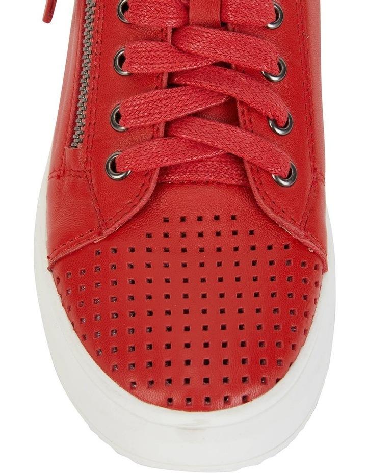 Carson Red Nappa Sneaker image 7