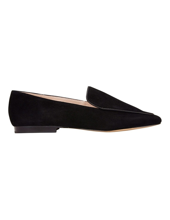 Haven Black Suede Loafer image 2