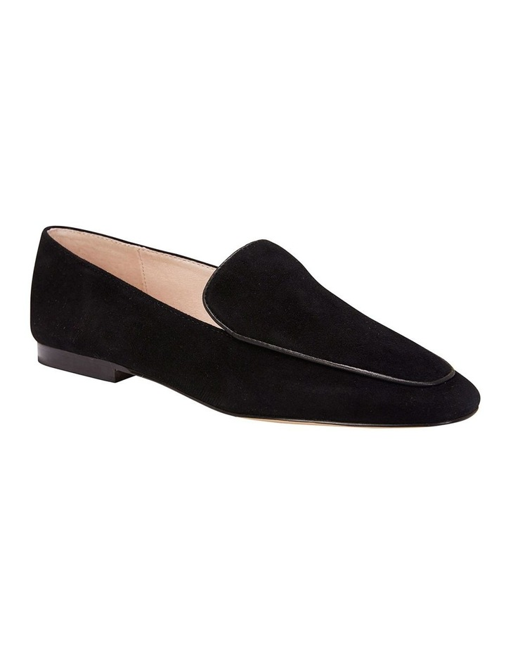 Haven Black Suede Loafer image 3
