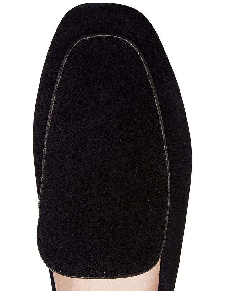 Haven Black Suede Loafer image 5