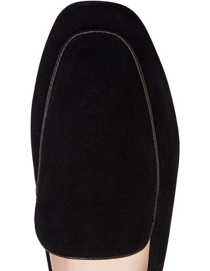 Haven Black Suede Loafer image 6
