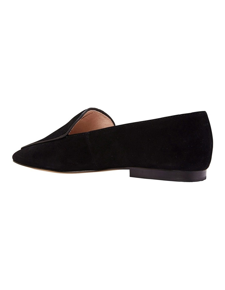 Haven Black Suede Loafer image 8
