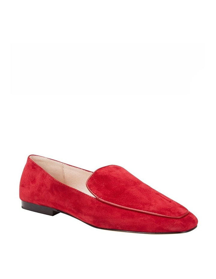 Haven Red Suede Loafer image 3
