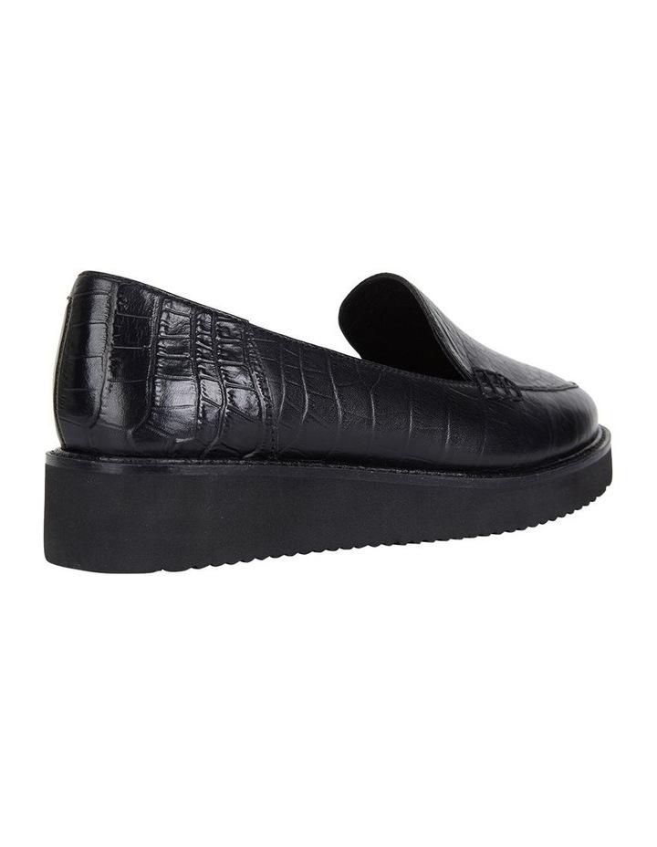 Jane Debster Vista Black Croc Flatform Loafer image 4