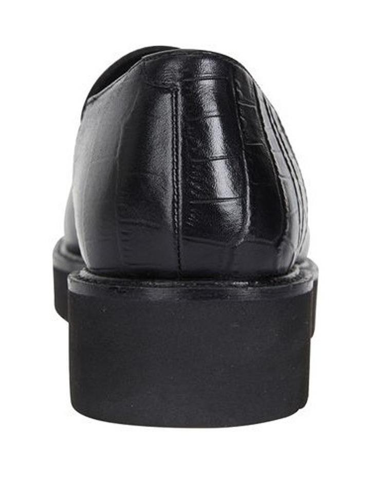Jane Debster Vista Black Croc Flatform Loafer image 5