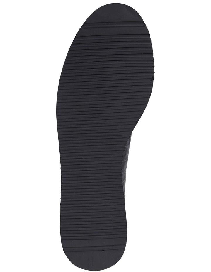 Jane Debster Vista Black Croc Flatform Loafer image 6