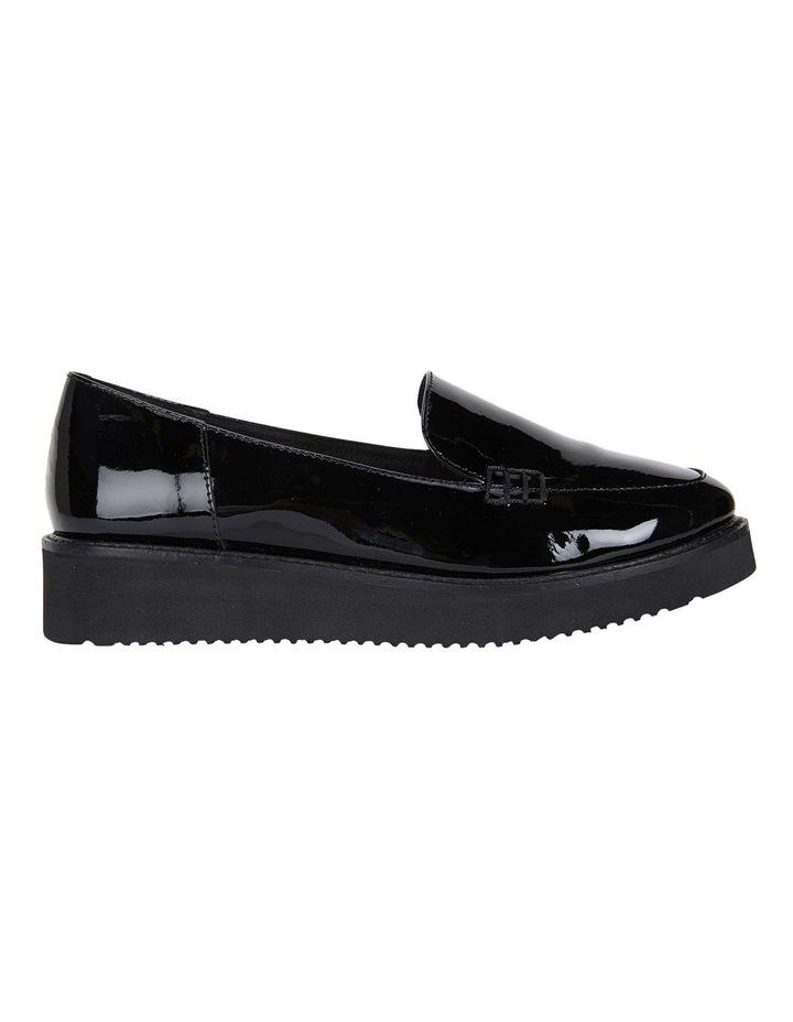 Jane Debster Vista Black Patent Flatform Loafer image 1