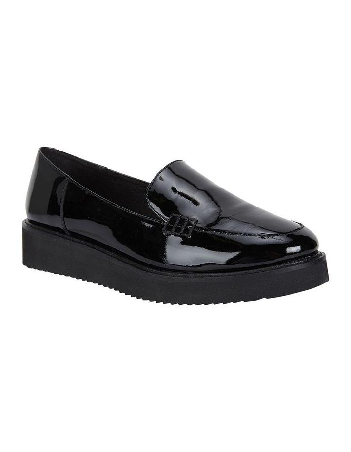 Jane Debster Vista Black Patent Flatform Loafer image 2