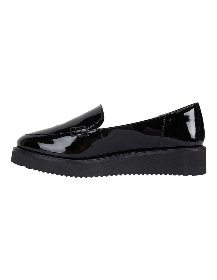 Jane Debster Vista Black Patent Flatform Loafer image 3