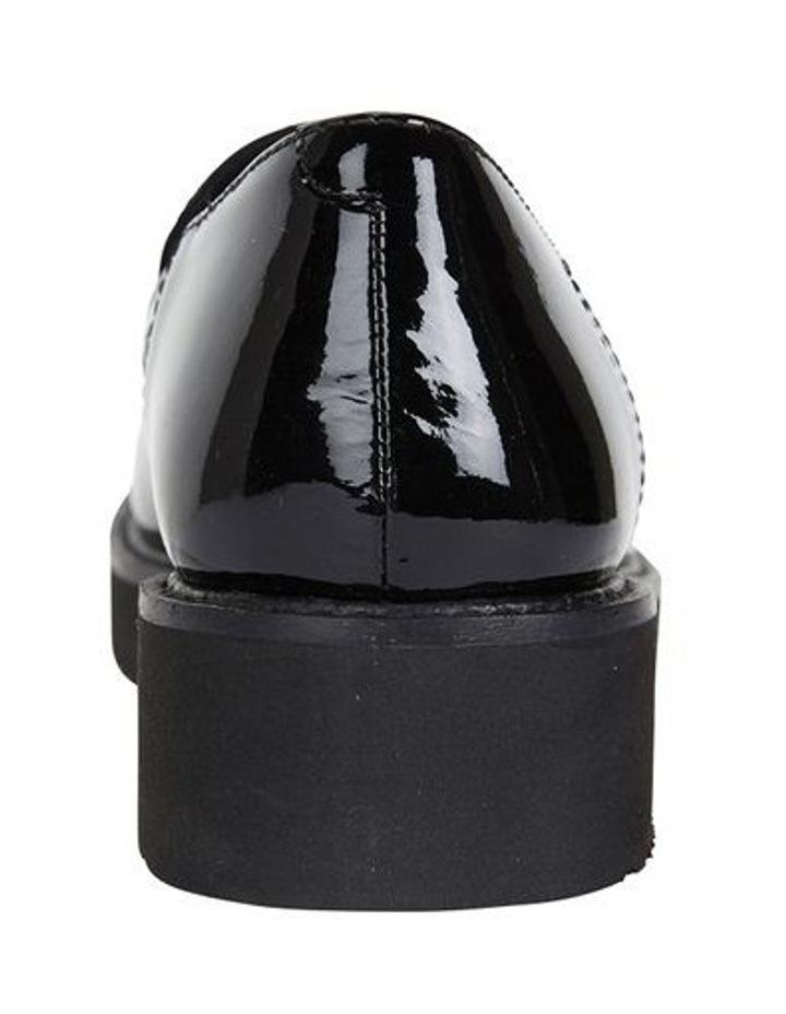 Jane Debster Vista Black Patent Flatform Loafer image 5