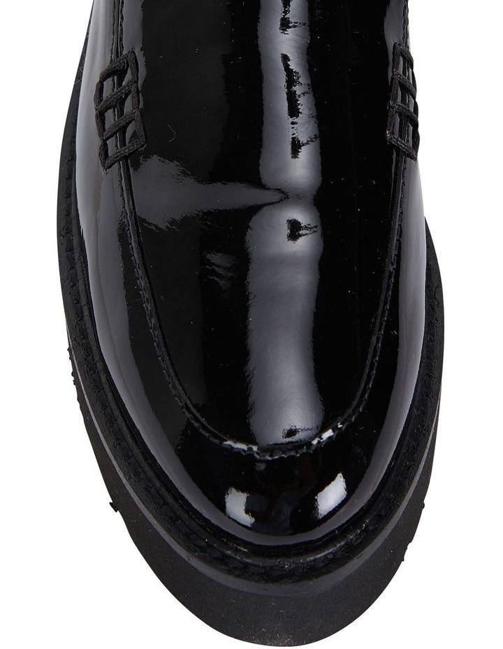 Jane Debster Vista Black Patent Flatform Loafer image 7