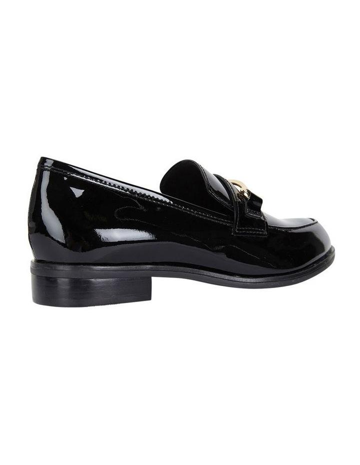 WALLIS Black Patent Flat Shoe image 4
