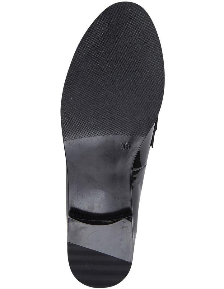 WALLIS Black Patent Flat Shoe image 6