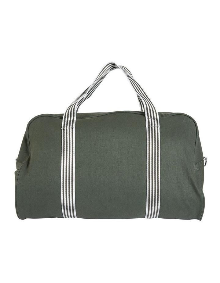RAVELLA Duffle Khaki/White Bag image 2