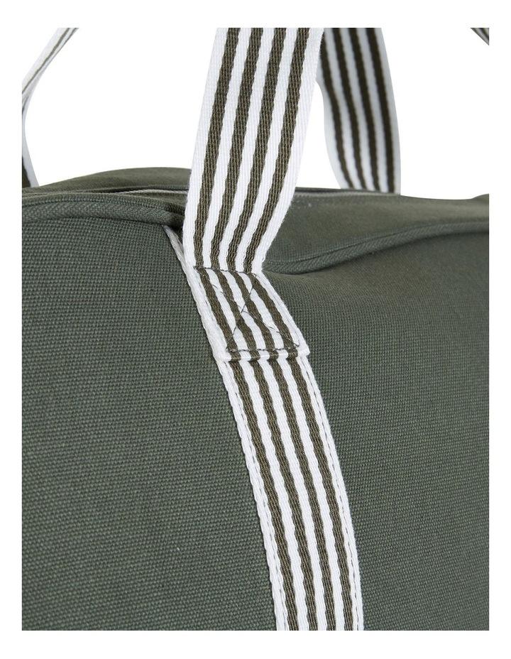 RAVELLA Duffle Khaki/White Bag image 4